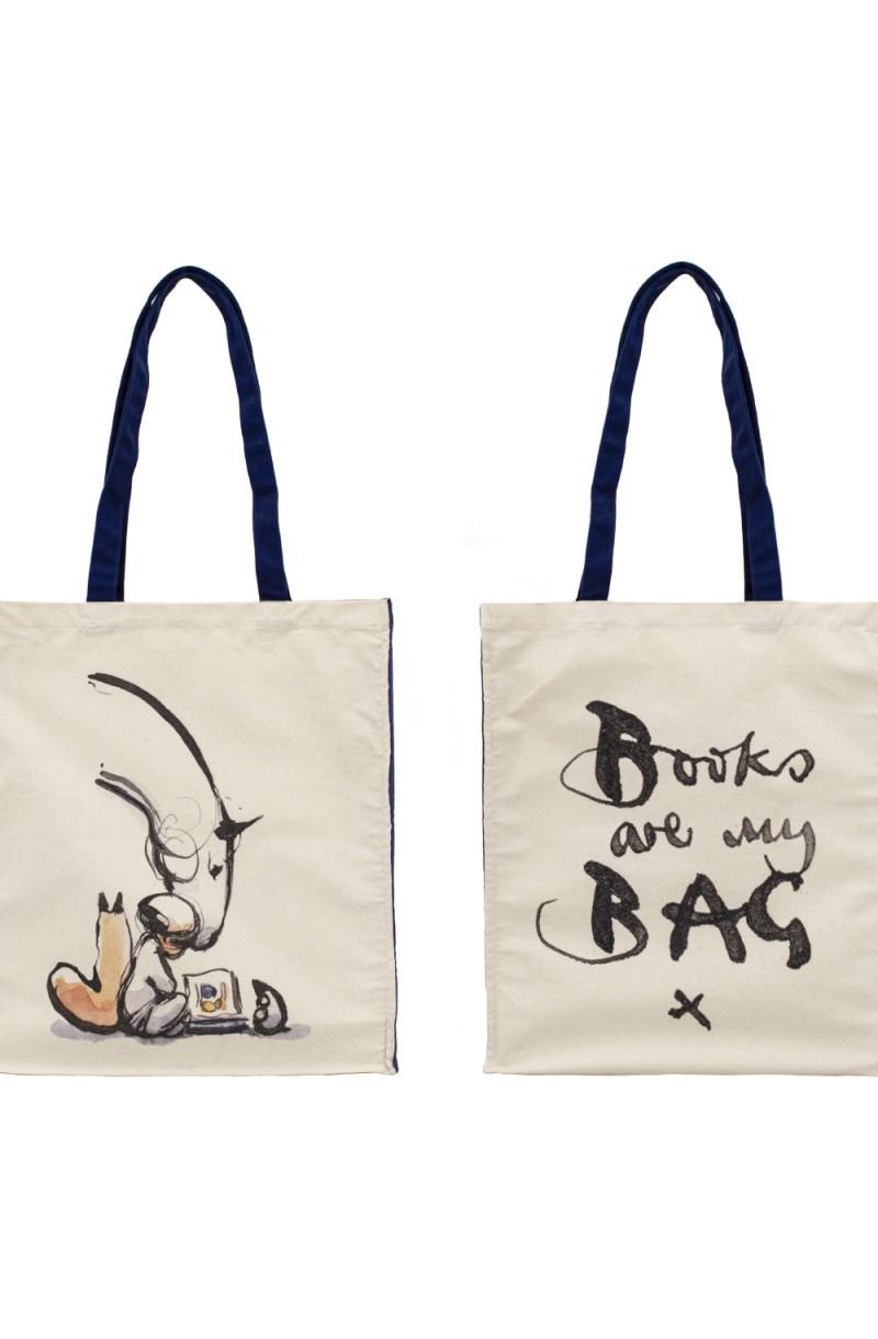 Bag - Books Are My Bag Charlie Mackesy