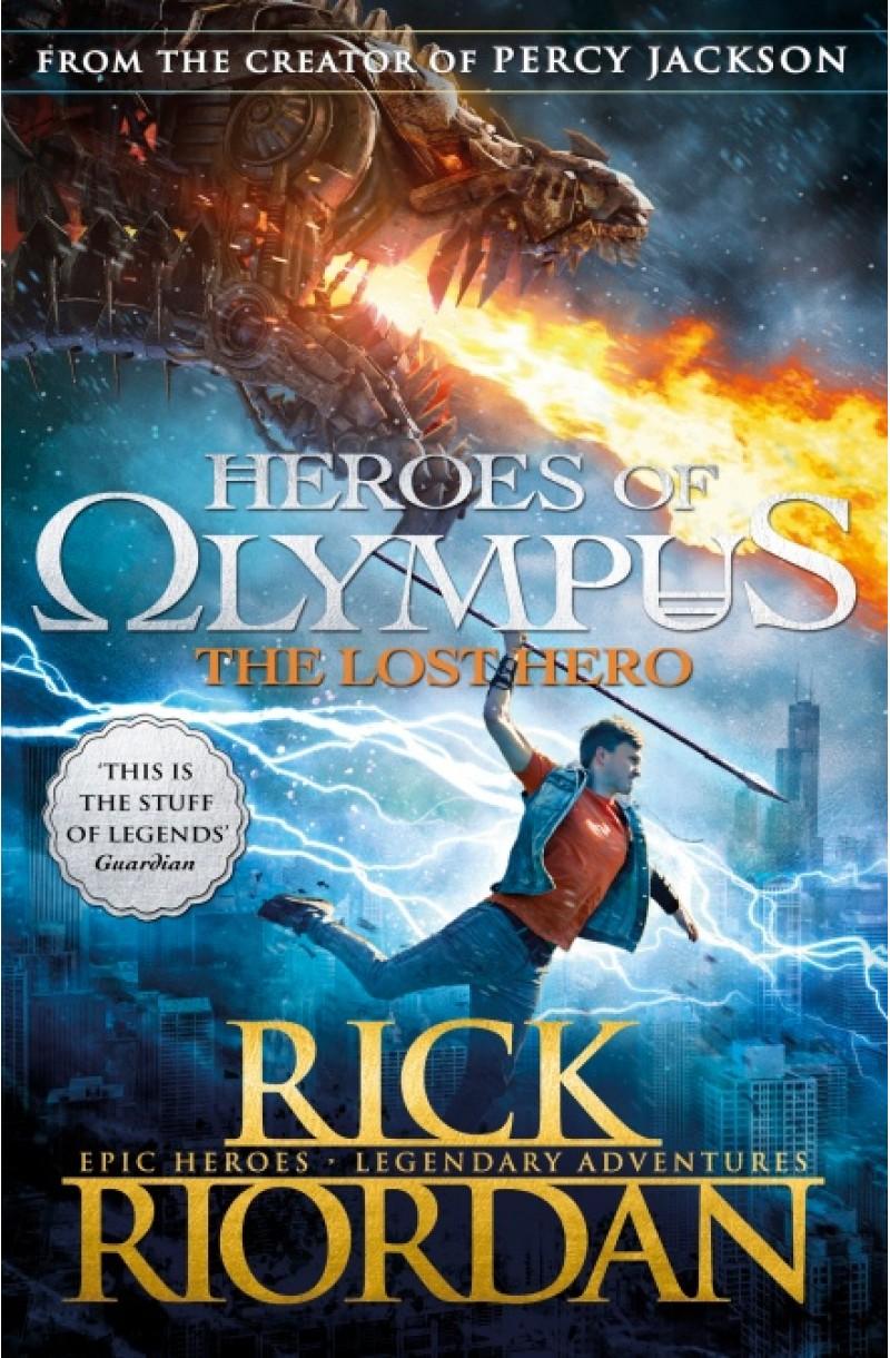 Heroes of Olympus 1: Lost Hero