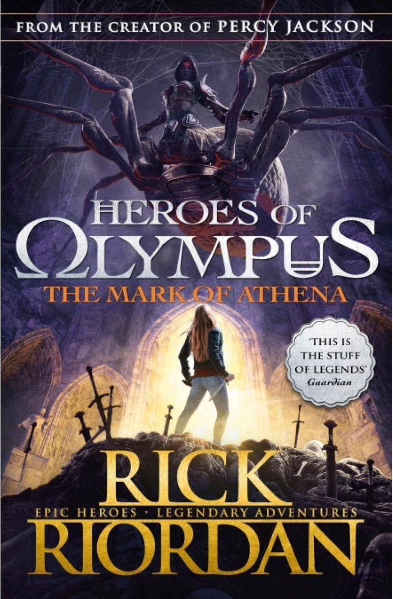 Heroes of Olympus 3: Mark of Athena