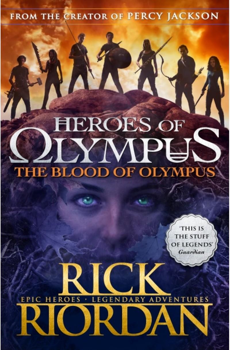 Heroes of Olympus 5: Blood of Olympus