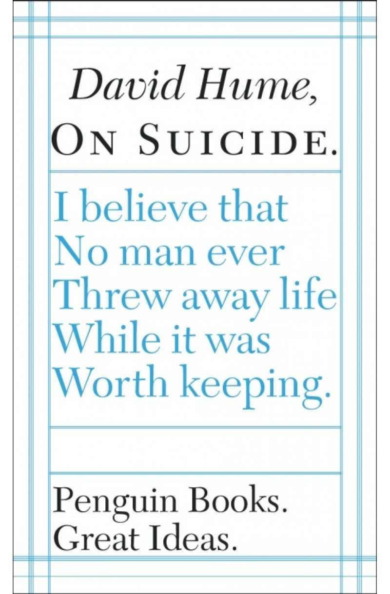 On Suicide (Penguin Great Ideas)
