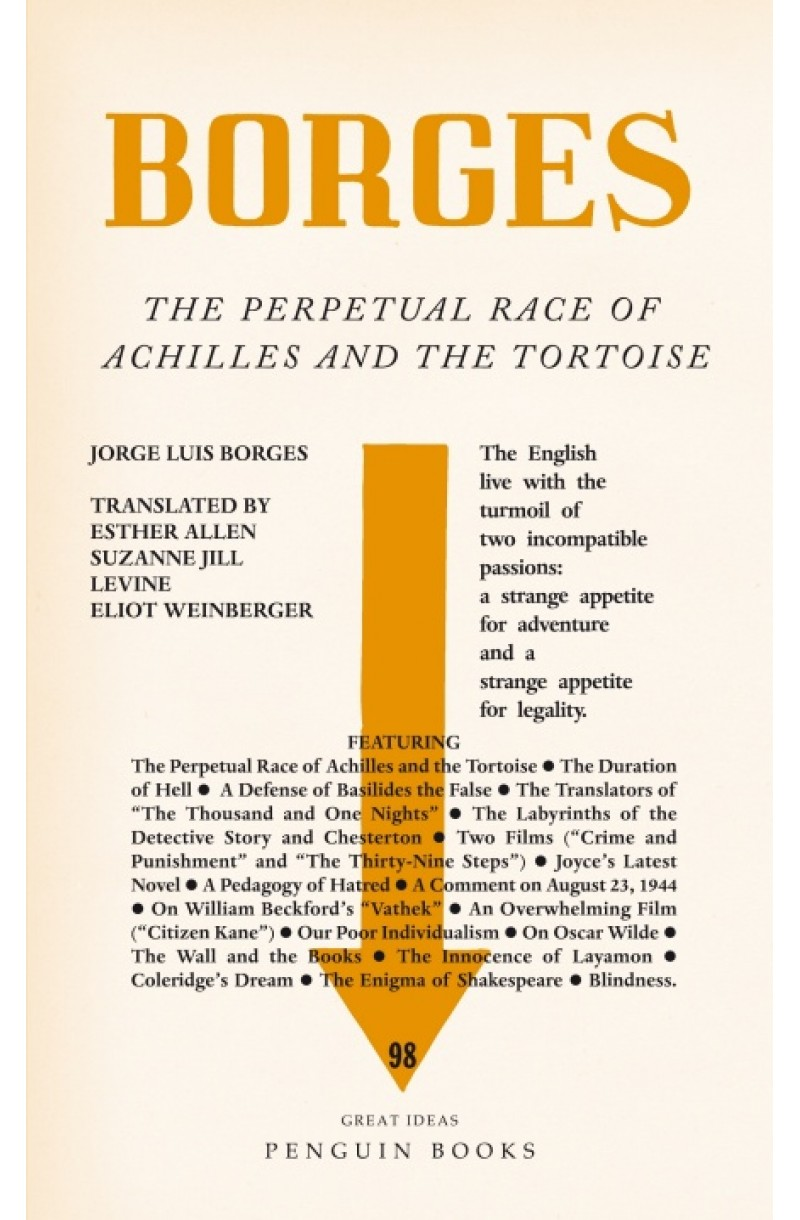 Perpetual Race of Achilles and the Tortoise (Penguin Great Ideas)
