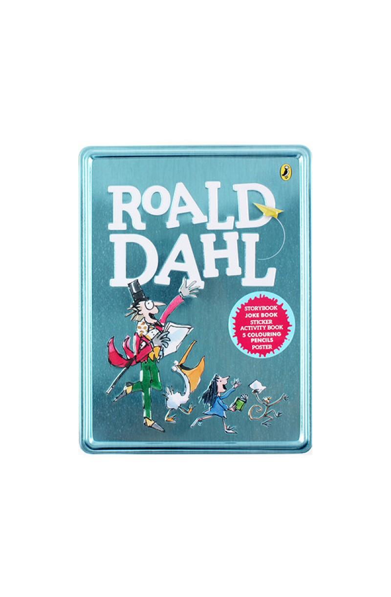 Roald Dahl Book and Tin