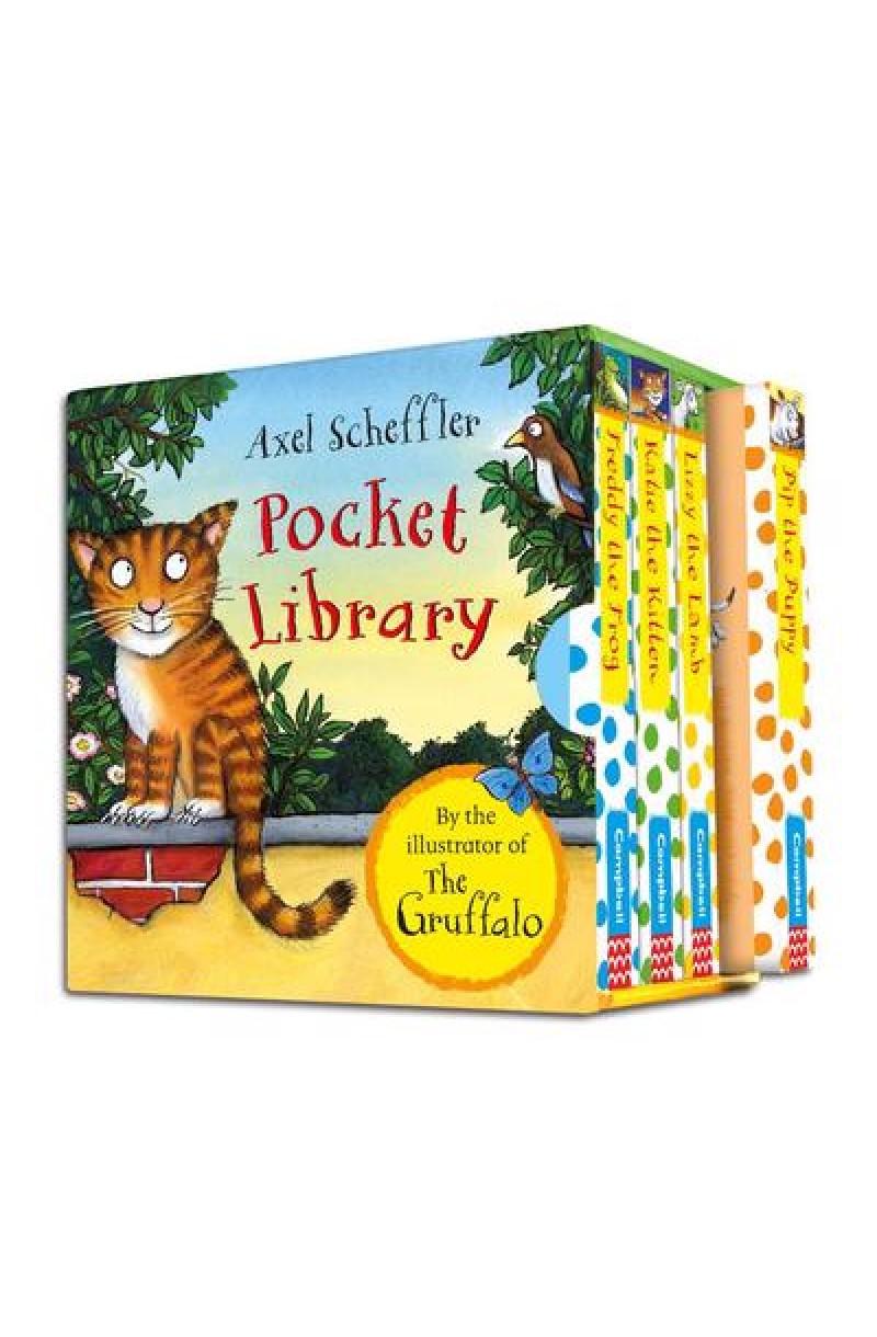 Axel Scheffler Pocket Library (set 4 books)