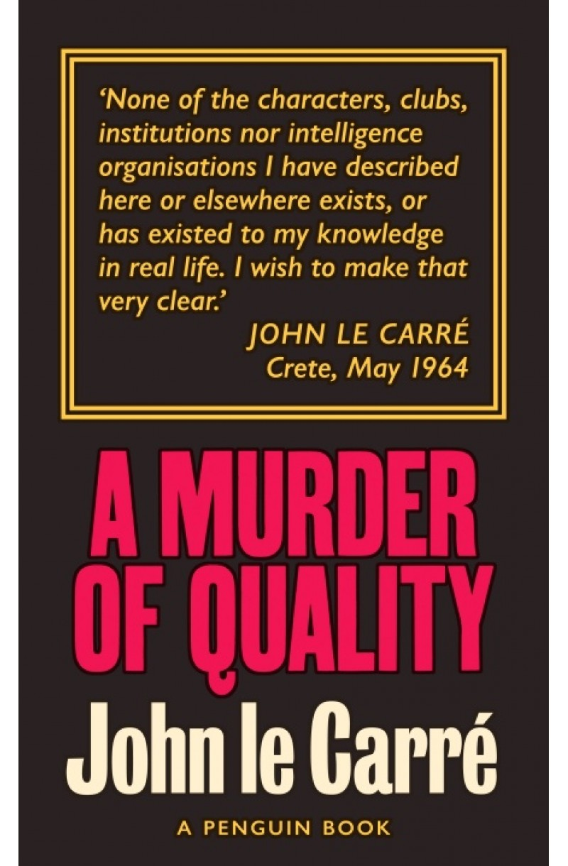 A Murder of Quality: The Smiley Collection (editie de buzunar)