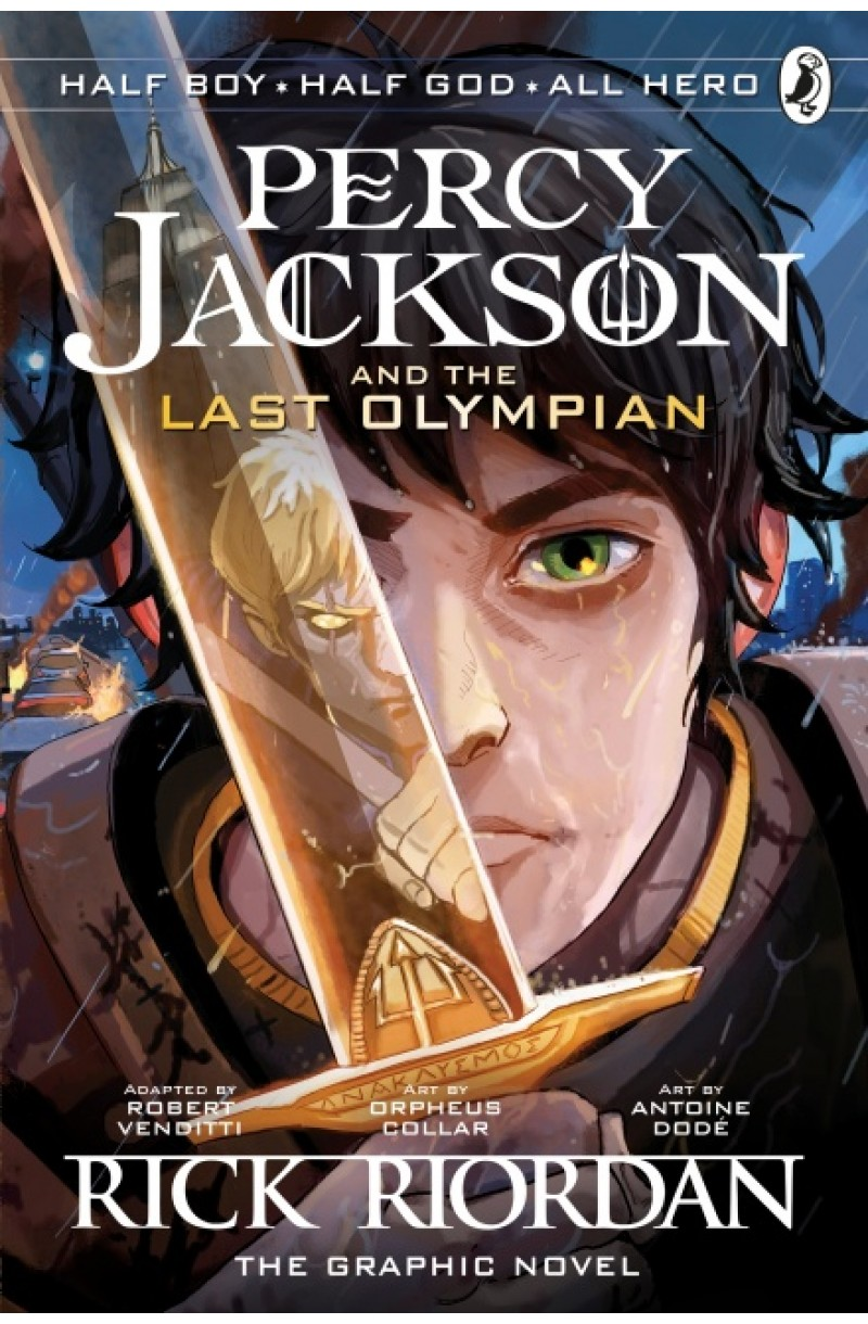 Percy Jackson Last Olympian: The Graphic Novel