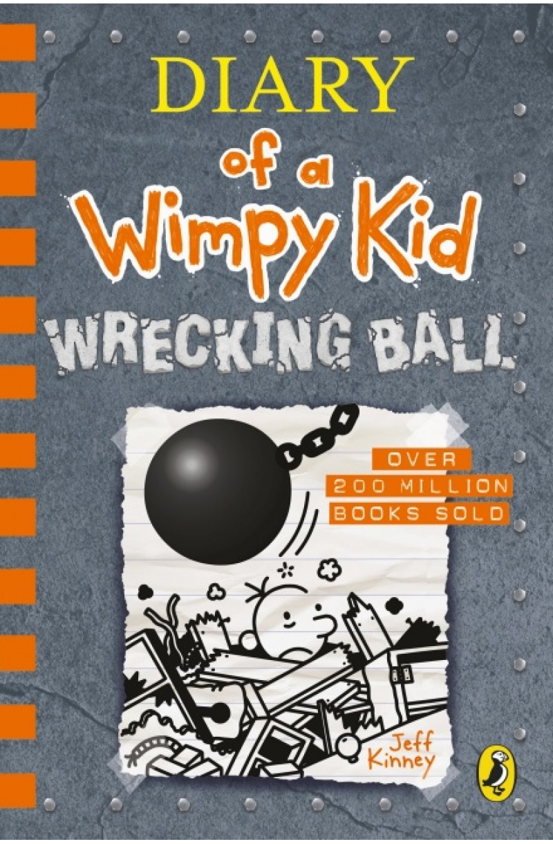Diary of a Wimpy Kid 14: Wrecking Ball (editie cartonata)