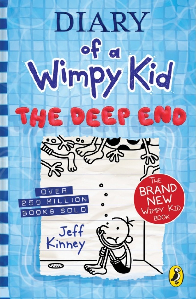 Diary of a Wimpy Kid 15: The Deep End (editie cartonata)
