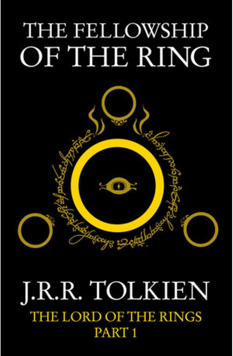 LOTR 1: Fellowship of the Ring (black cover)