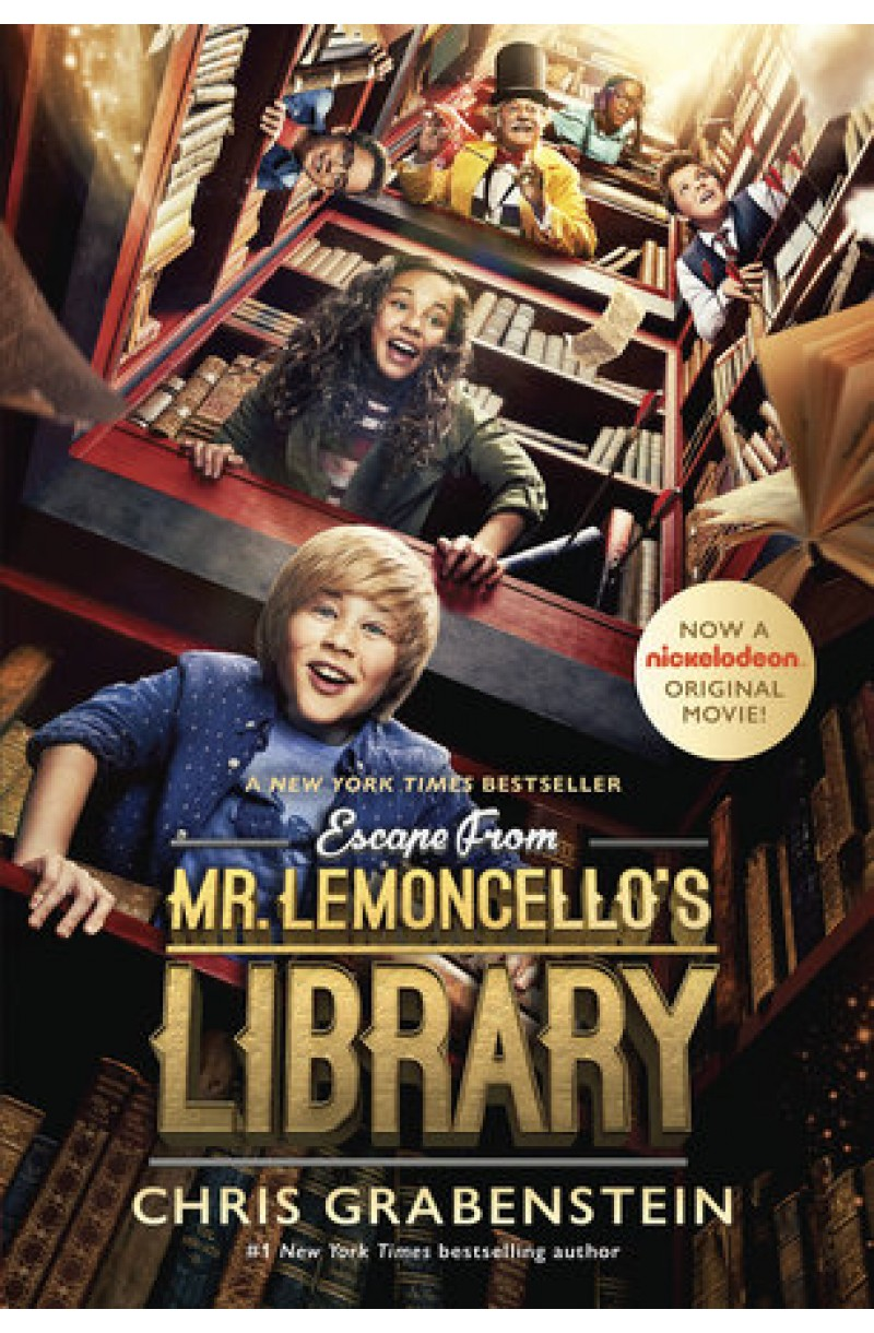 Escape from Mr. Lemoncello's Library (Movie Tie-In) US Edition