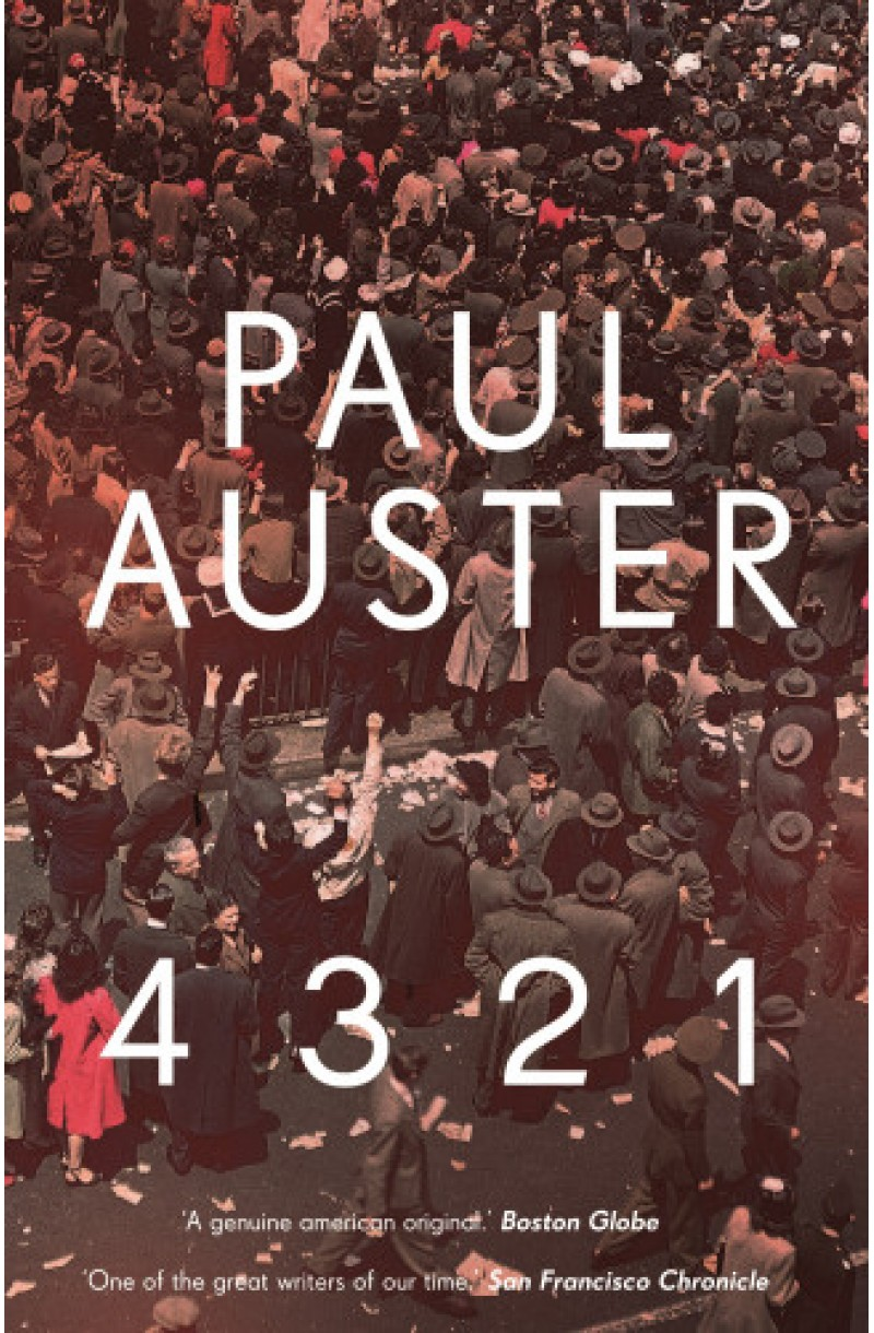 4 3 2 1 - editie de buzunar (Shortlisted for The Man Booker Prize 2017)