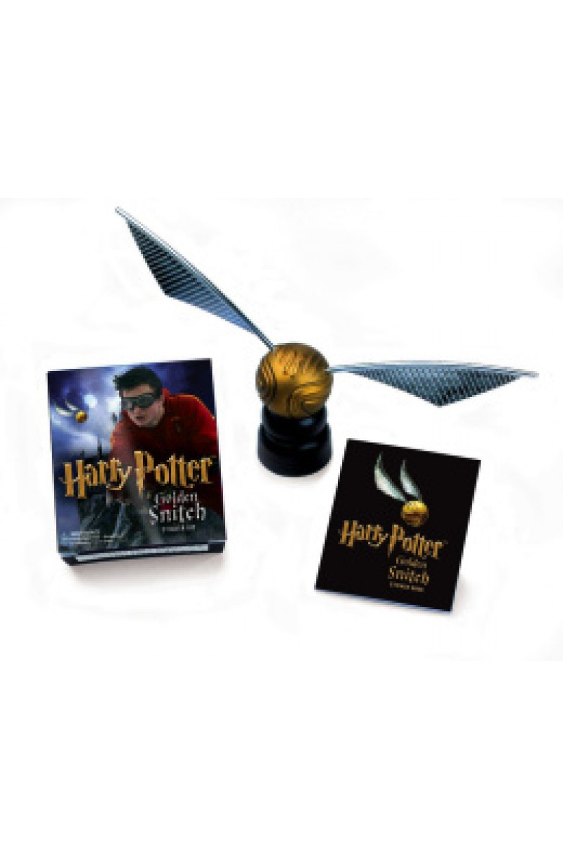 Harry Potter: Golden Snitch Sticker Kit (book+toy)