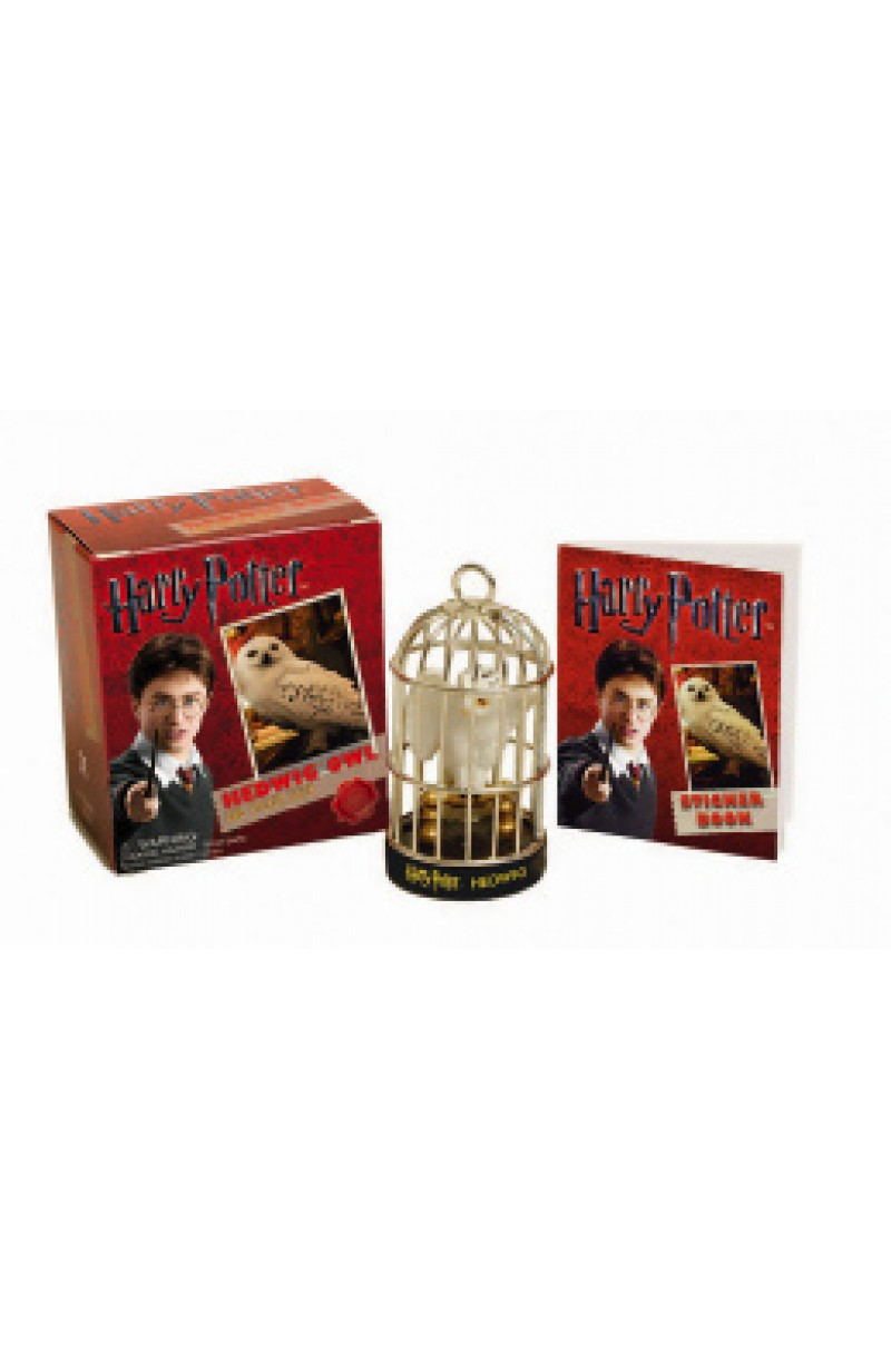 Harry Potter: Hedwig Owl Kit and Sticker Book (book+toy)