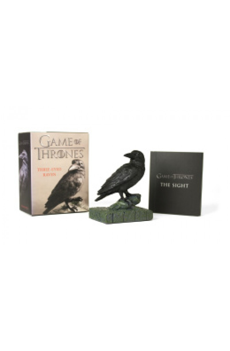 Game of Thrones: Three-Eyed Raven (book+toy)