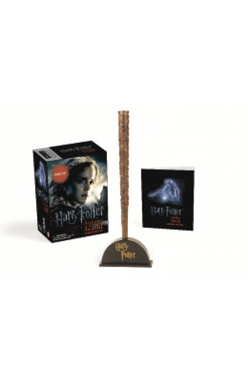 Harry Potter: Hermione's Wand with Sticker Kit: Lights Up! (book+toy)