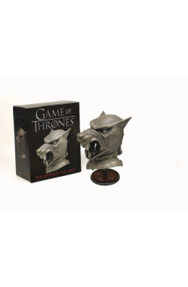 Game of Thrones: The Hound's Helmet (book+toy)