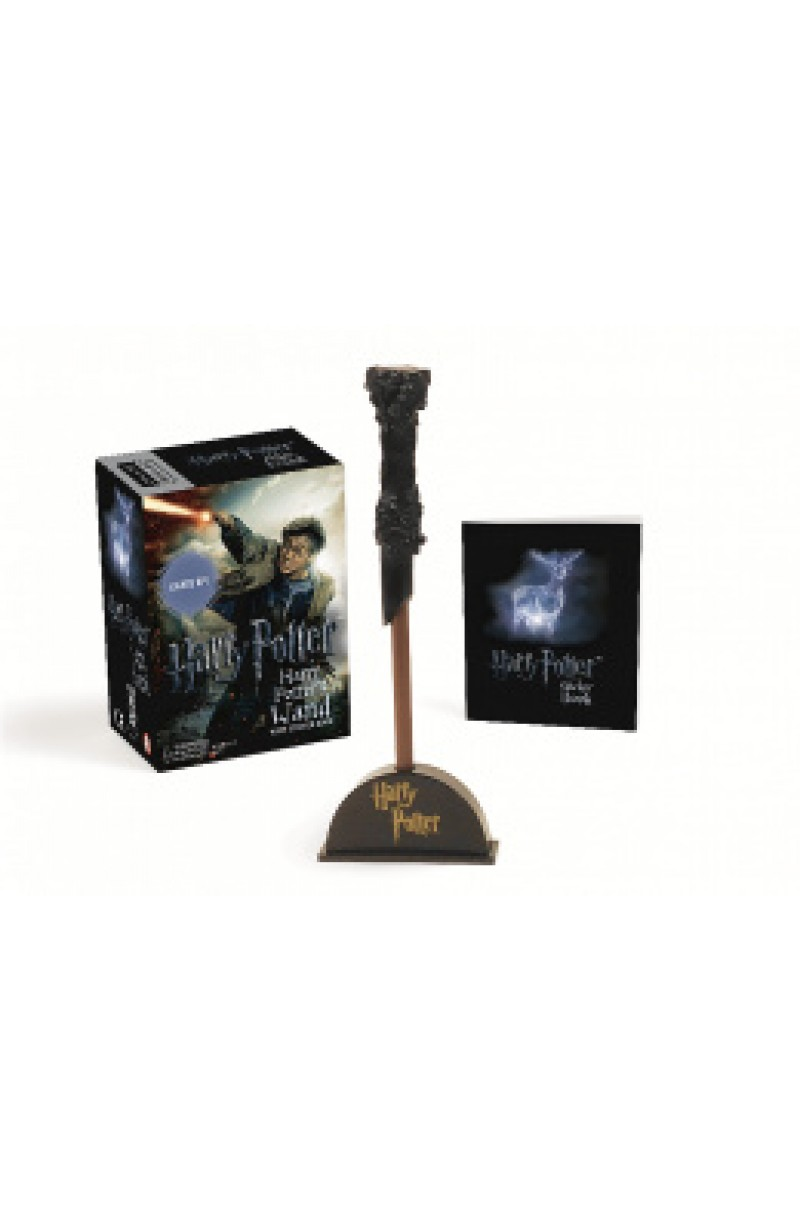 Harry Potter: Harry Potter's Wand with Sticker Book : Lights Up! (book+toy)