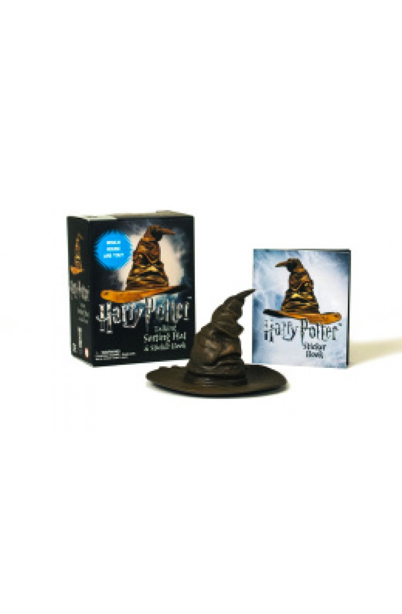 Harry Potter: Talking Sorting Hat and Sticker Book: Which House Are You? (book+toy)