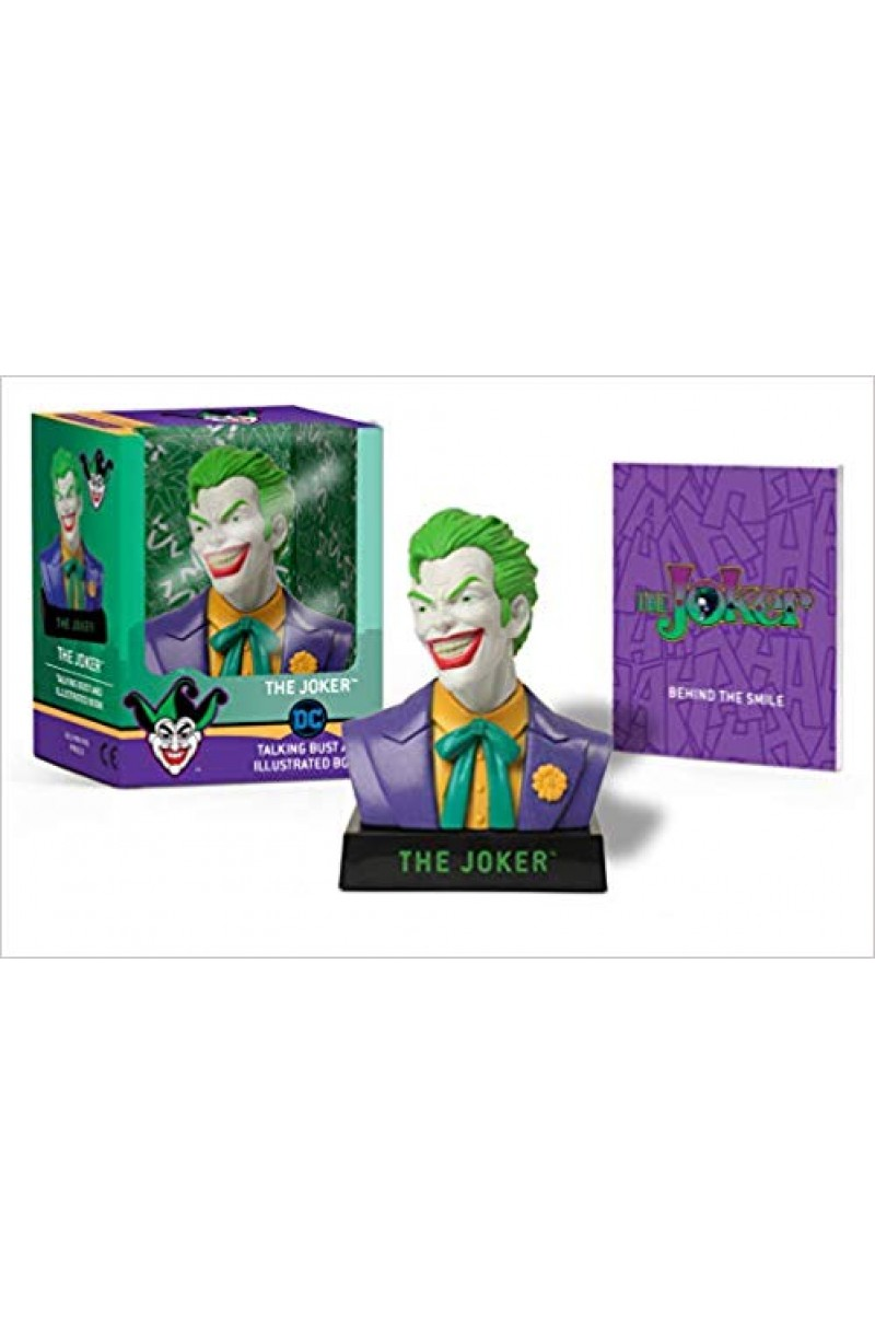 Joker: Talking Bust and Illustrated Book