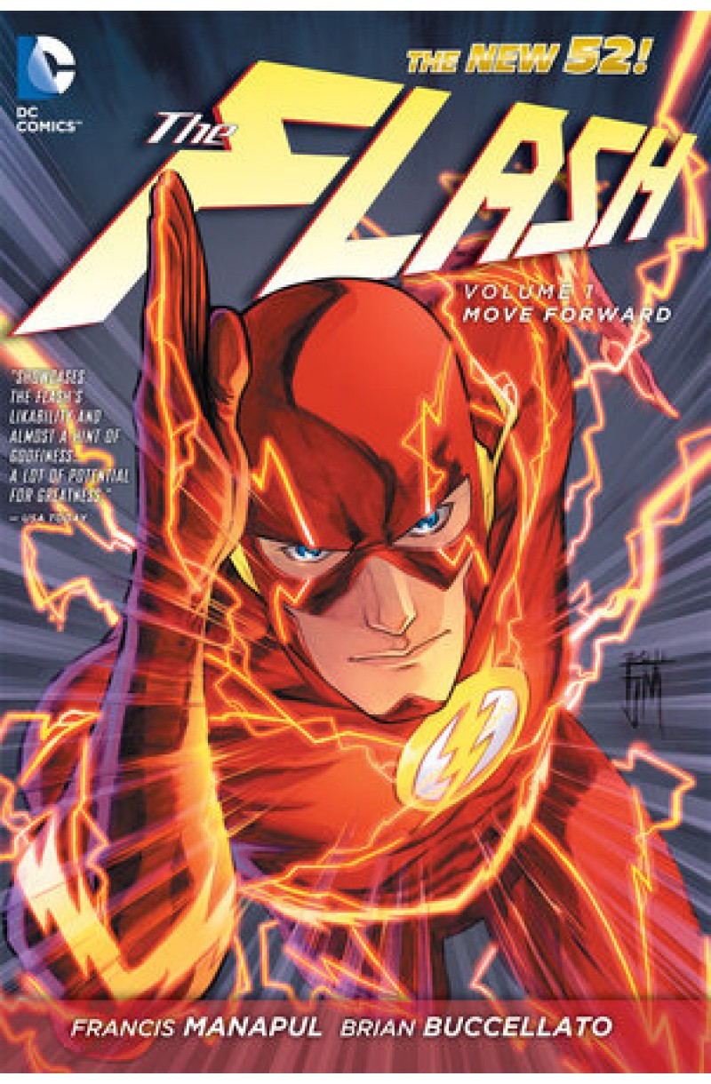 Flash Vol. 1: Move Forward (The New 52) (DC Comics)