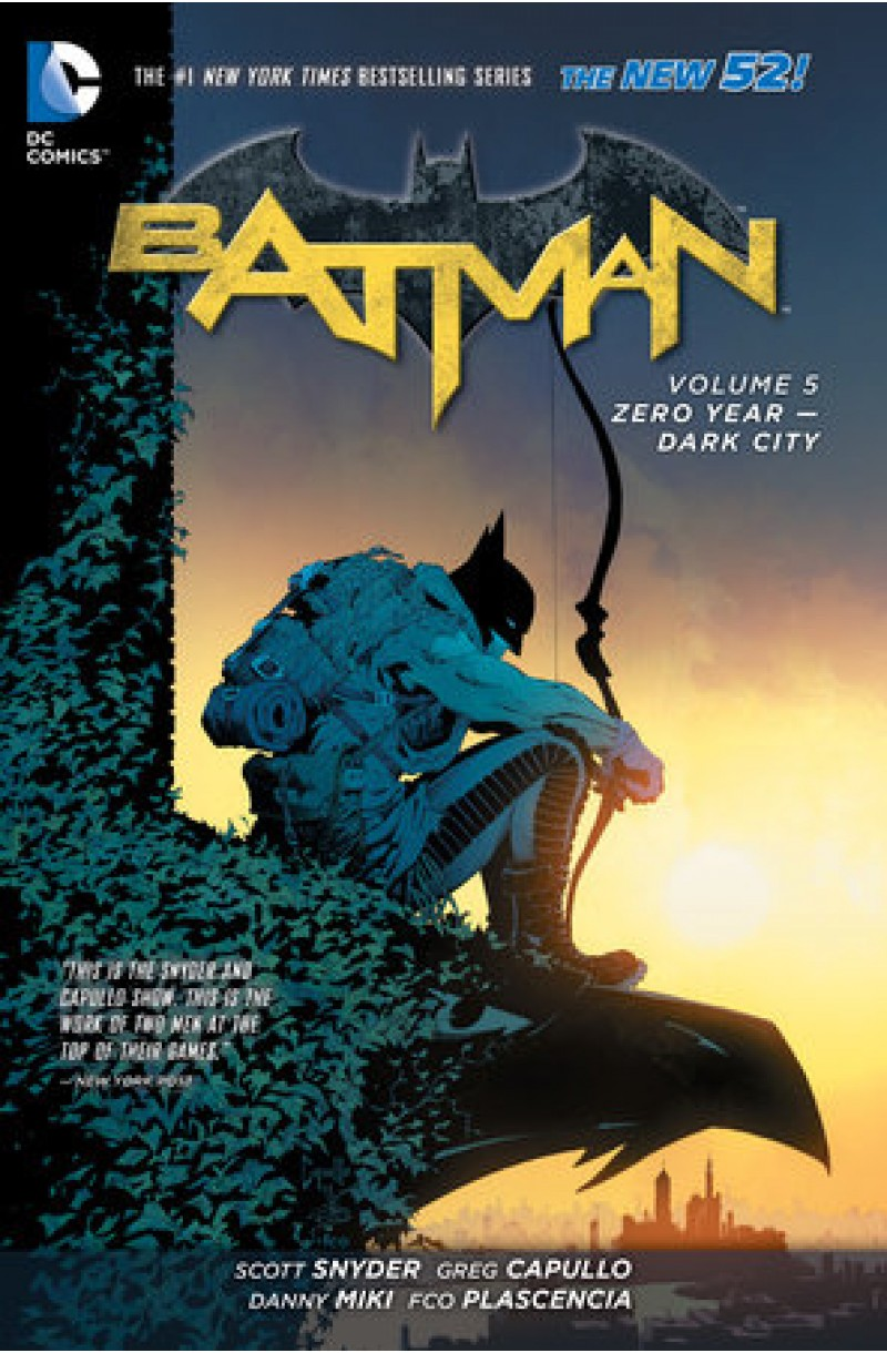 Batman Vol. 5: Zero Year - Dark City (The New 52) (DC Comics)