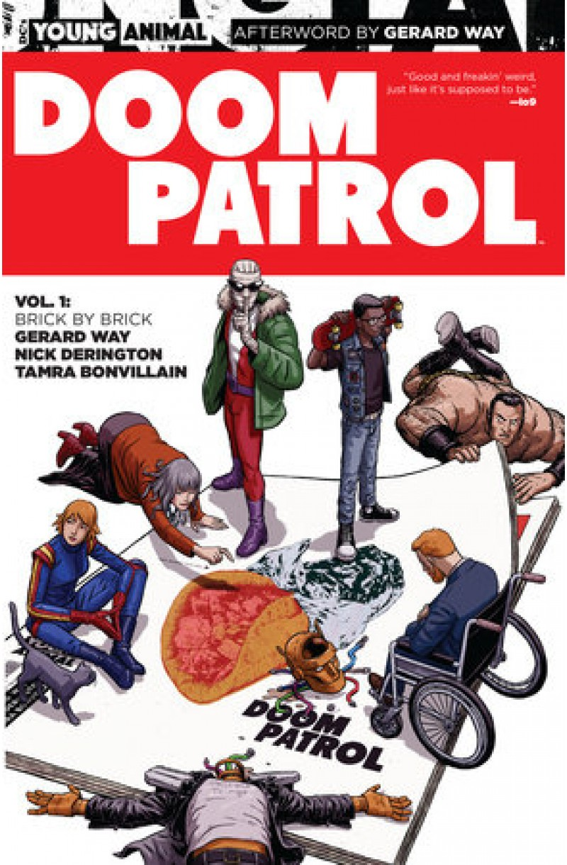 Doom Patrol Vol. 1: Brick by Brick (DC Comics)