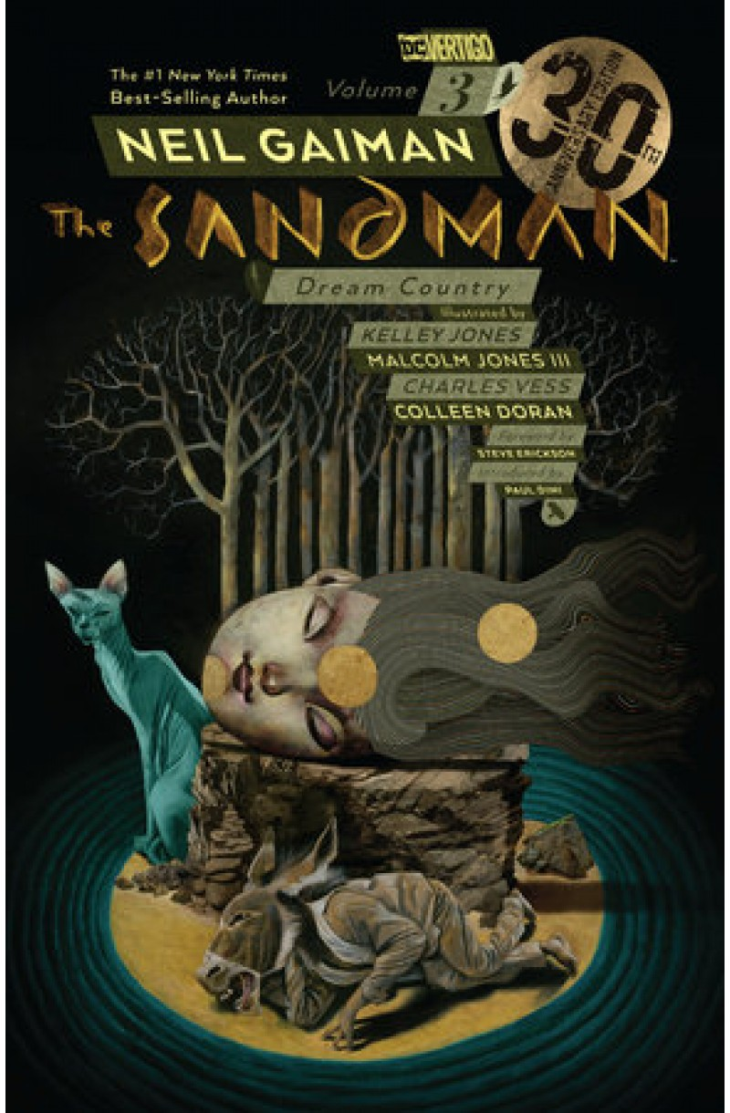 Sandman Vol. 3: Dream Country 30th Anniv. Ed. (DC Comics)