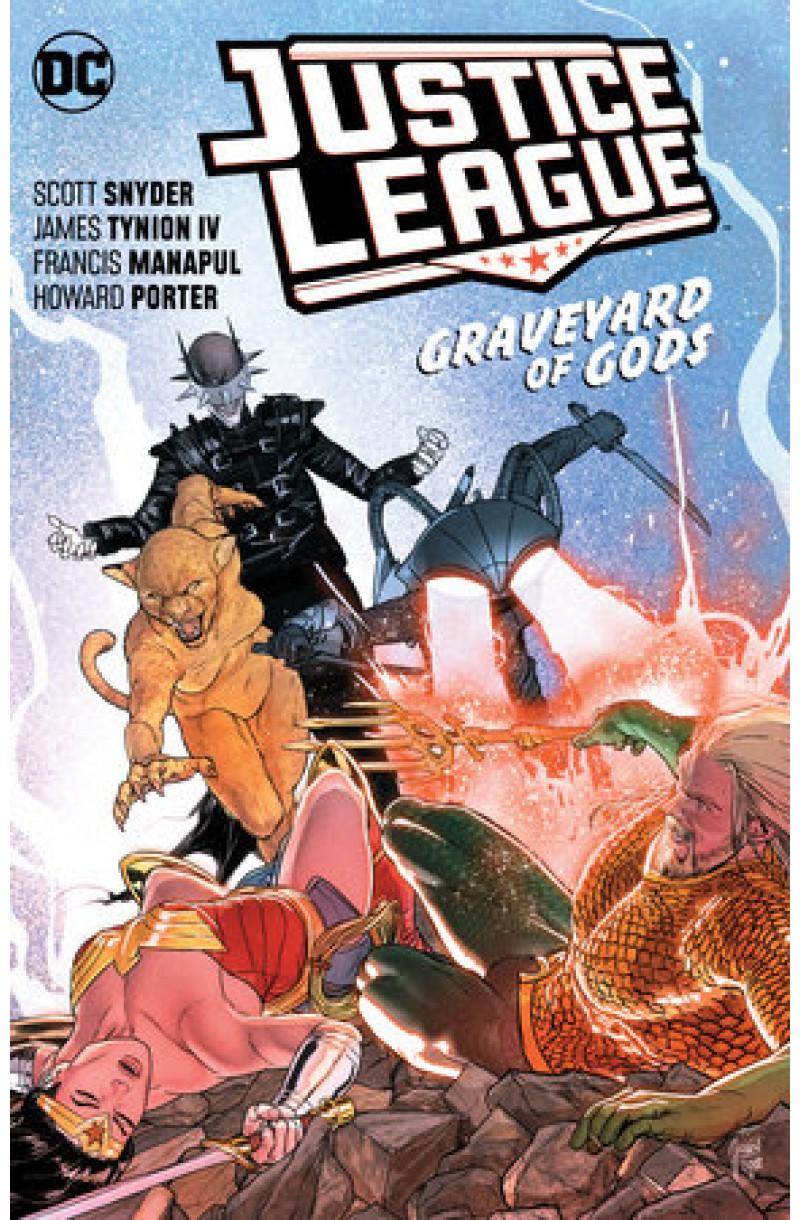Justice League Vol. 2: Graveyard of Gods (DC Comics)