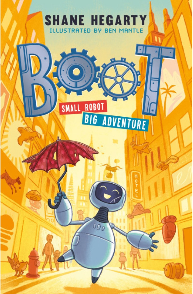 BOOT small robot  BIG adventure