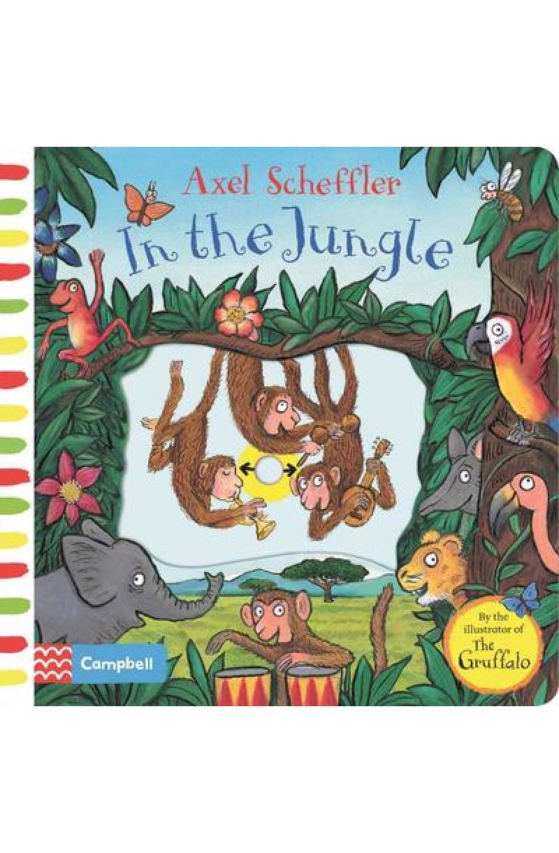 Axel Scheffler In the Jungle: A push, pull, slide book
