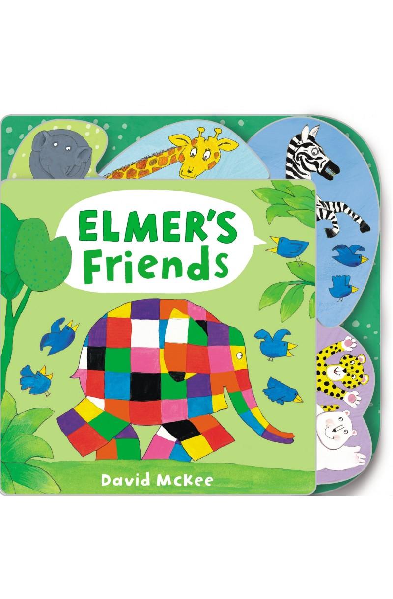 Elmer's Friends (board book)