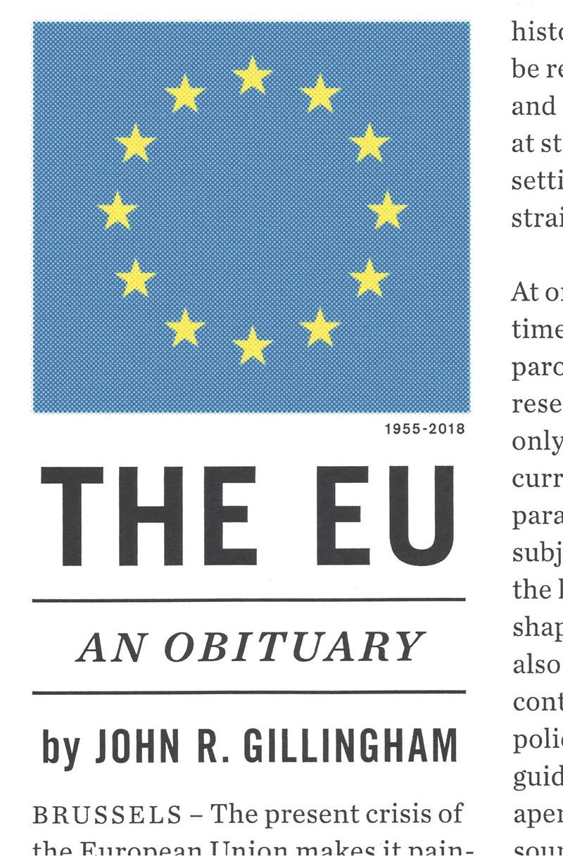 EU: An Obituary