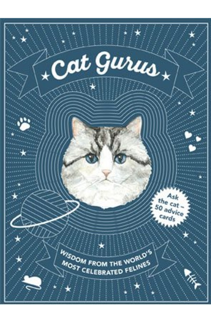 Cat Gurus: Wisdom from the World's Most Celebrated Felines (Cards - Gift Set)