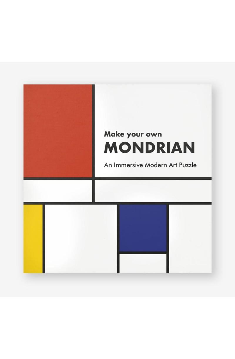 Make Your Own Mondrian: A Modern Art Puzzle