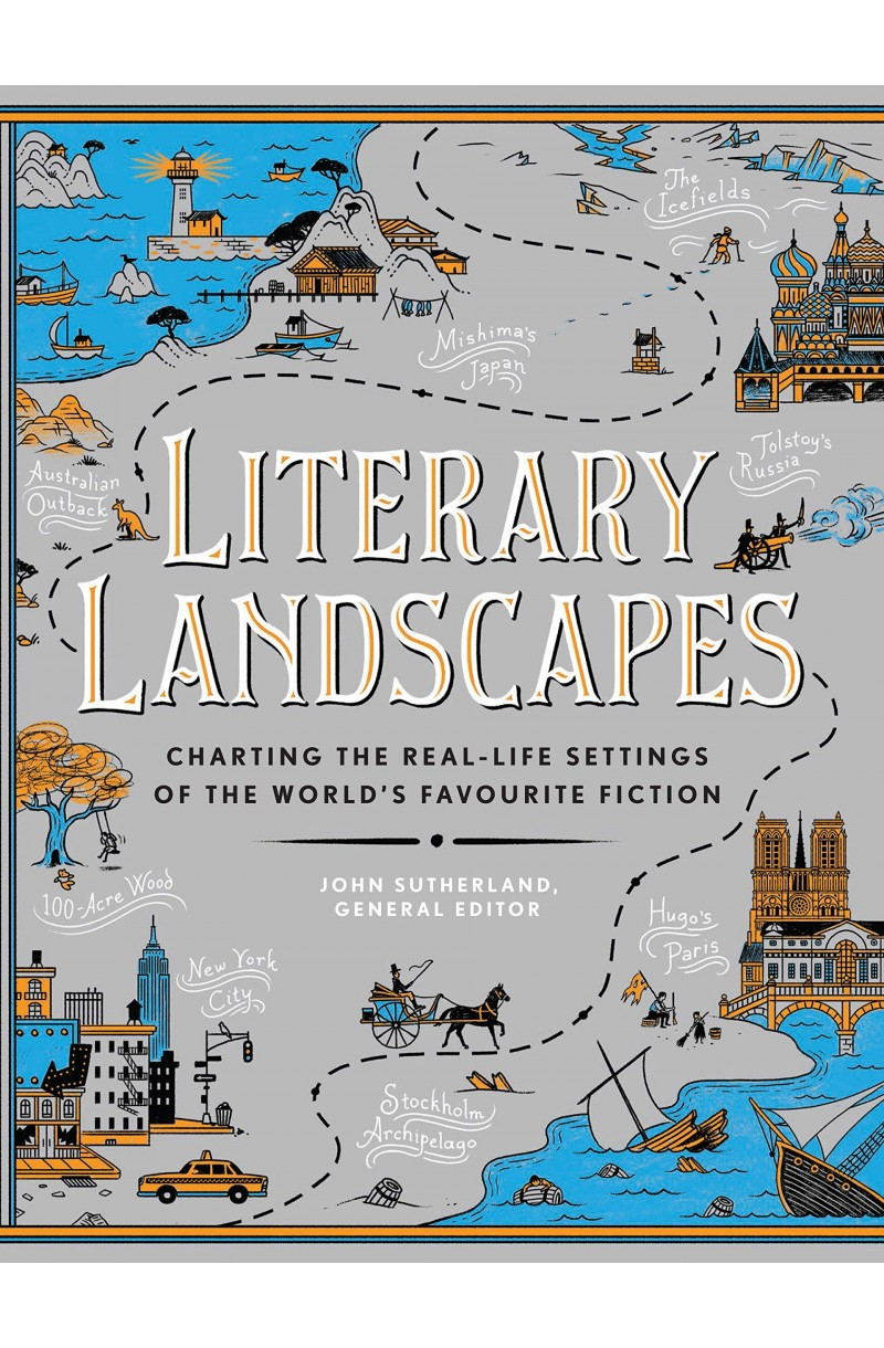 Literary Landscapes: Charting the Real-Life Settings of the World