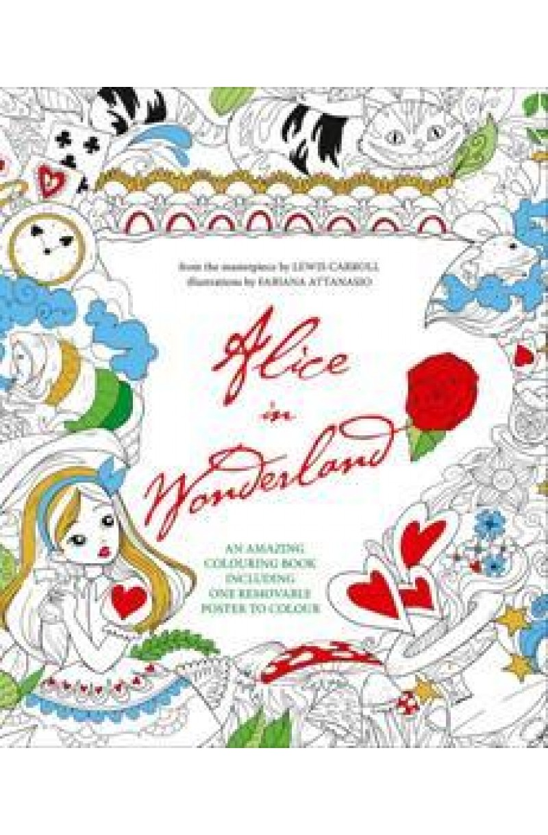 Alice in Wonderland: Colouring Book