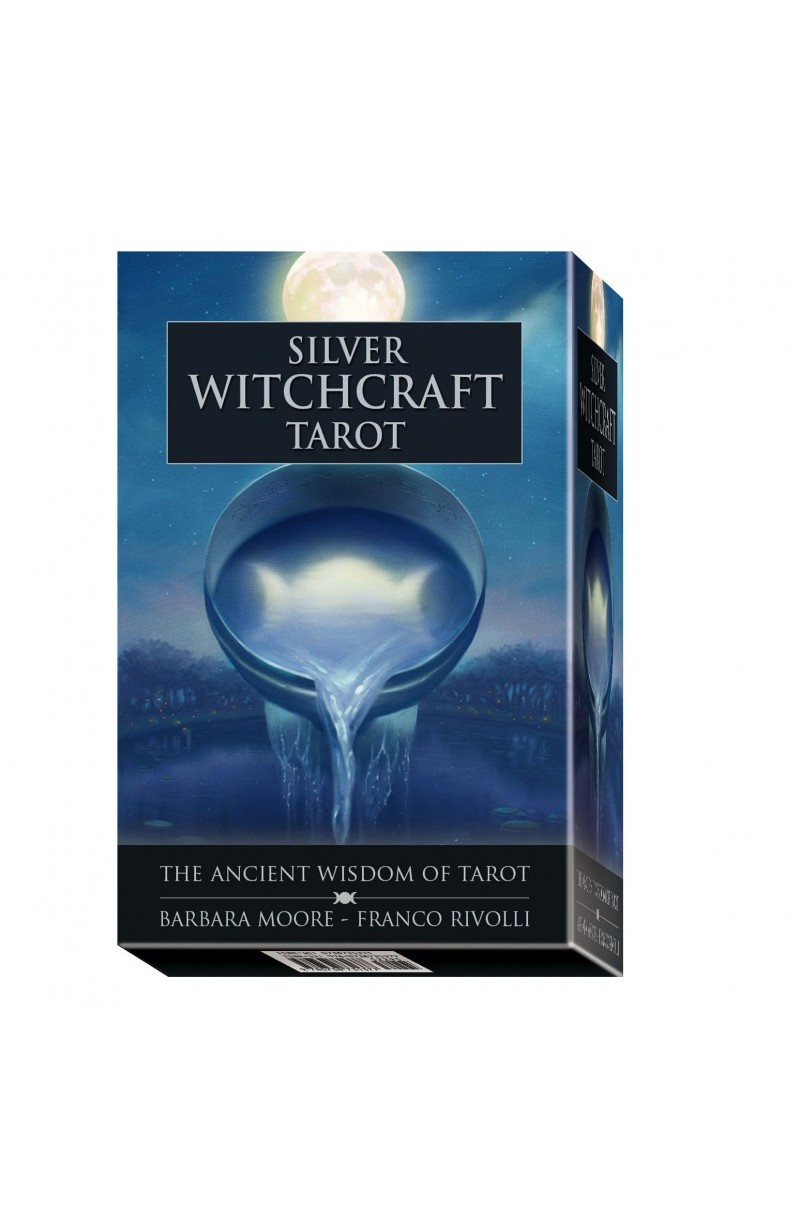 Silver Witchcraft Tarot Set (Book + Cards)