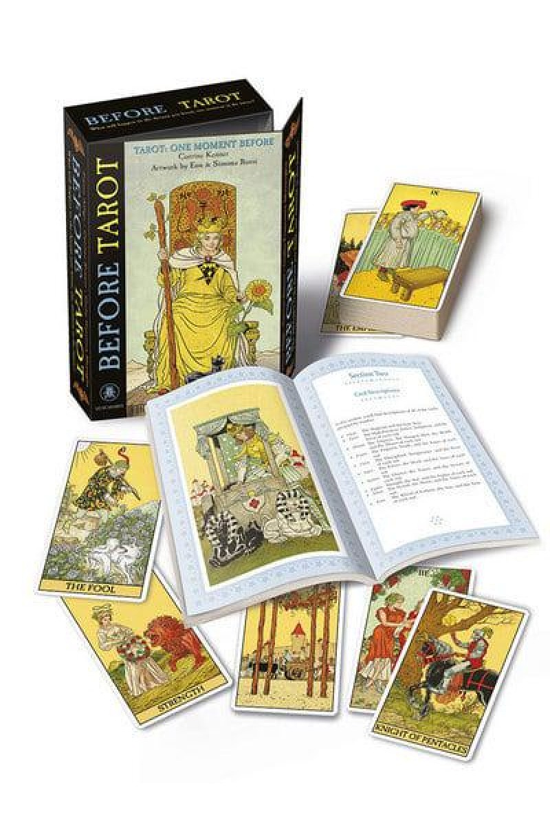 Before Tarot Set - One Moment Before (Book + Cards)