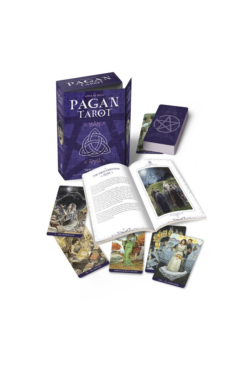 Pagan Tarot Set (Book + Cards)