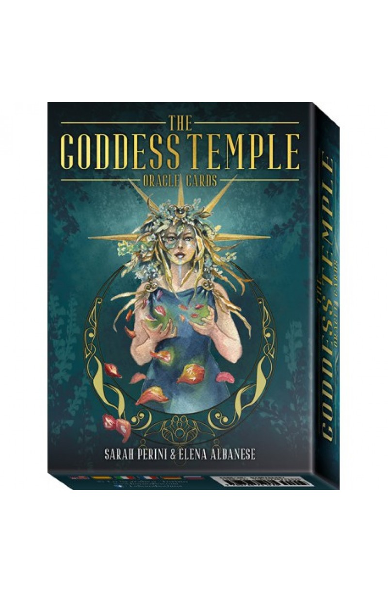 Goddess Temple Oracle Cards: 45 full colour cards & instructions