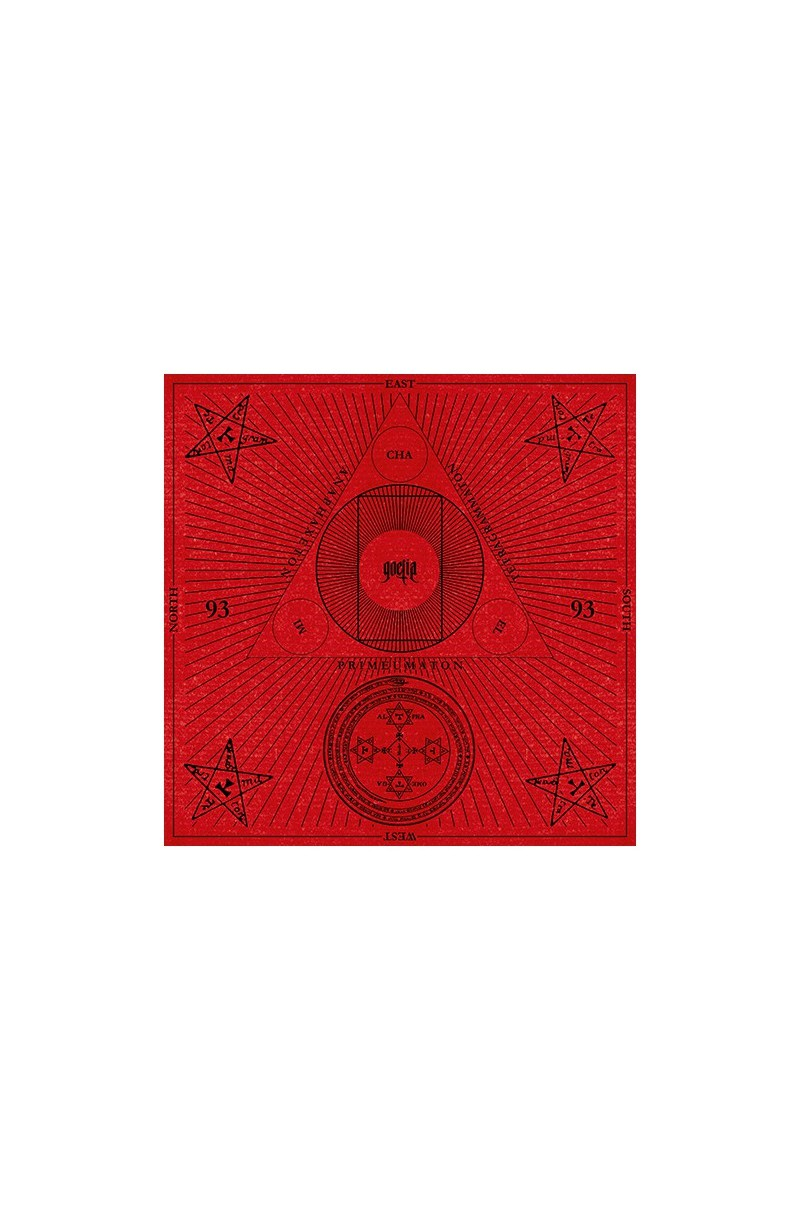 Tarot Cloth (Goetia - Red Velvet)