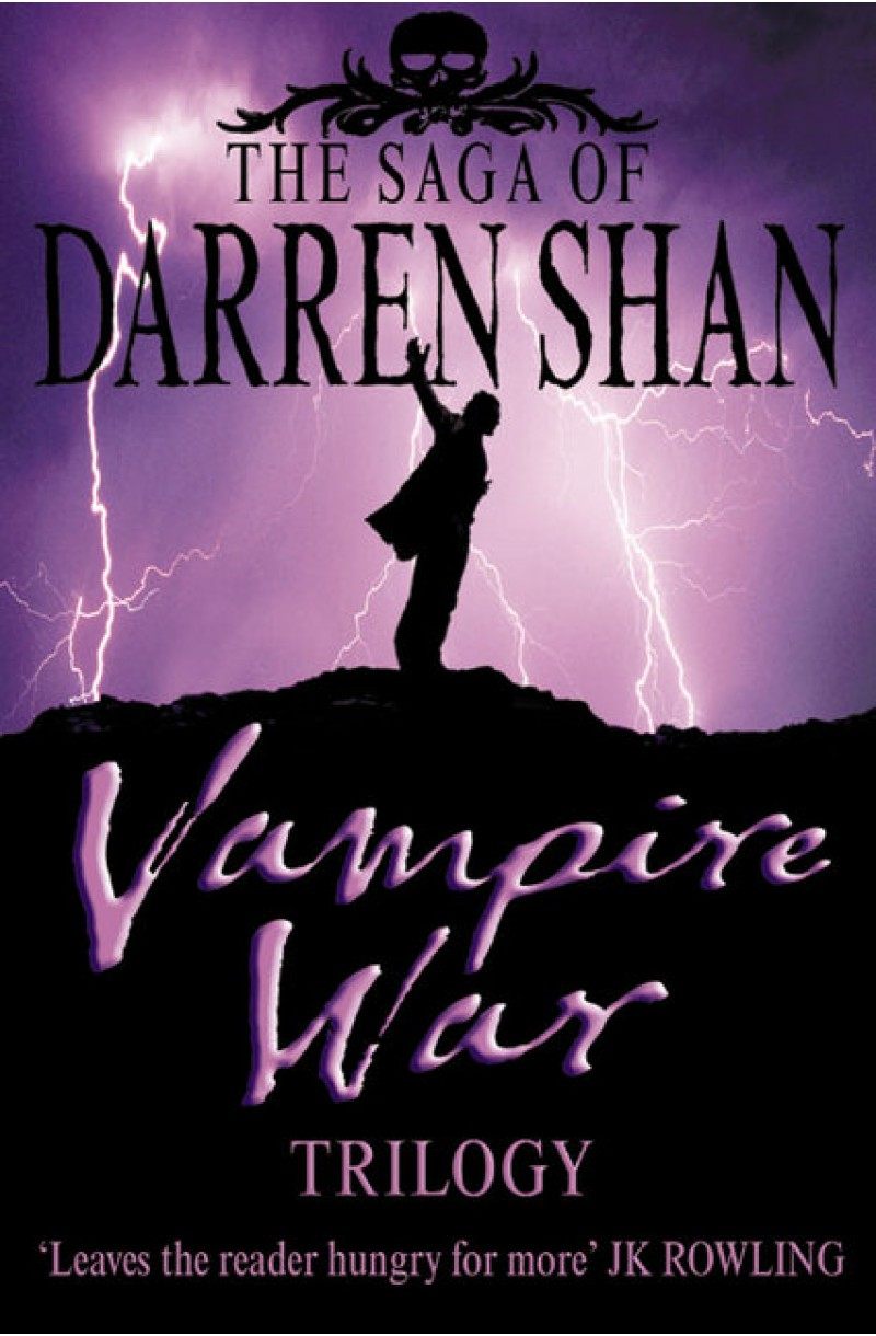 Saga of Darren Shan 7, 8 & 9: Vampire War