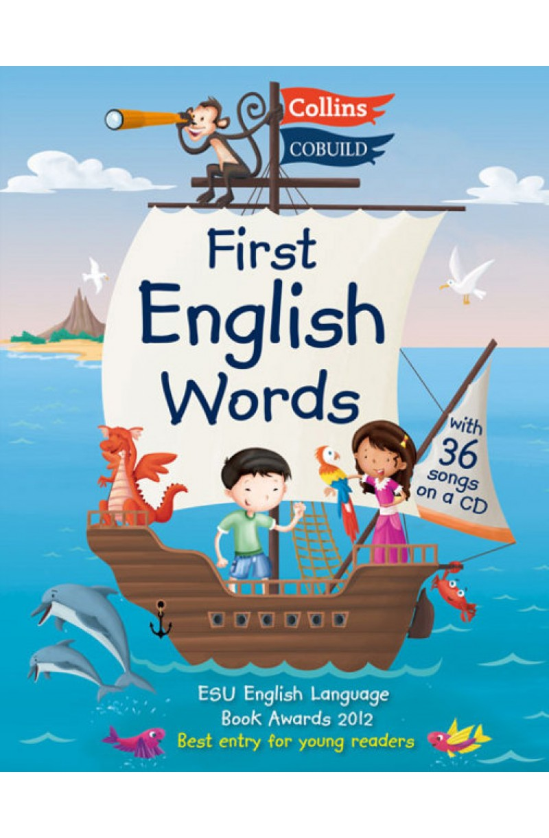 Collins First English Words: Age 3-7 (+CD)