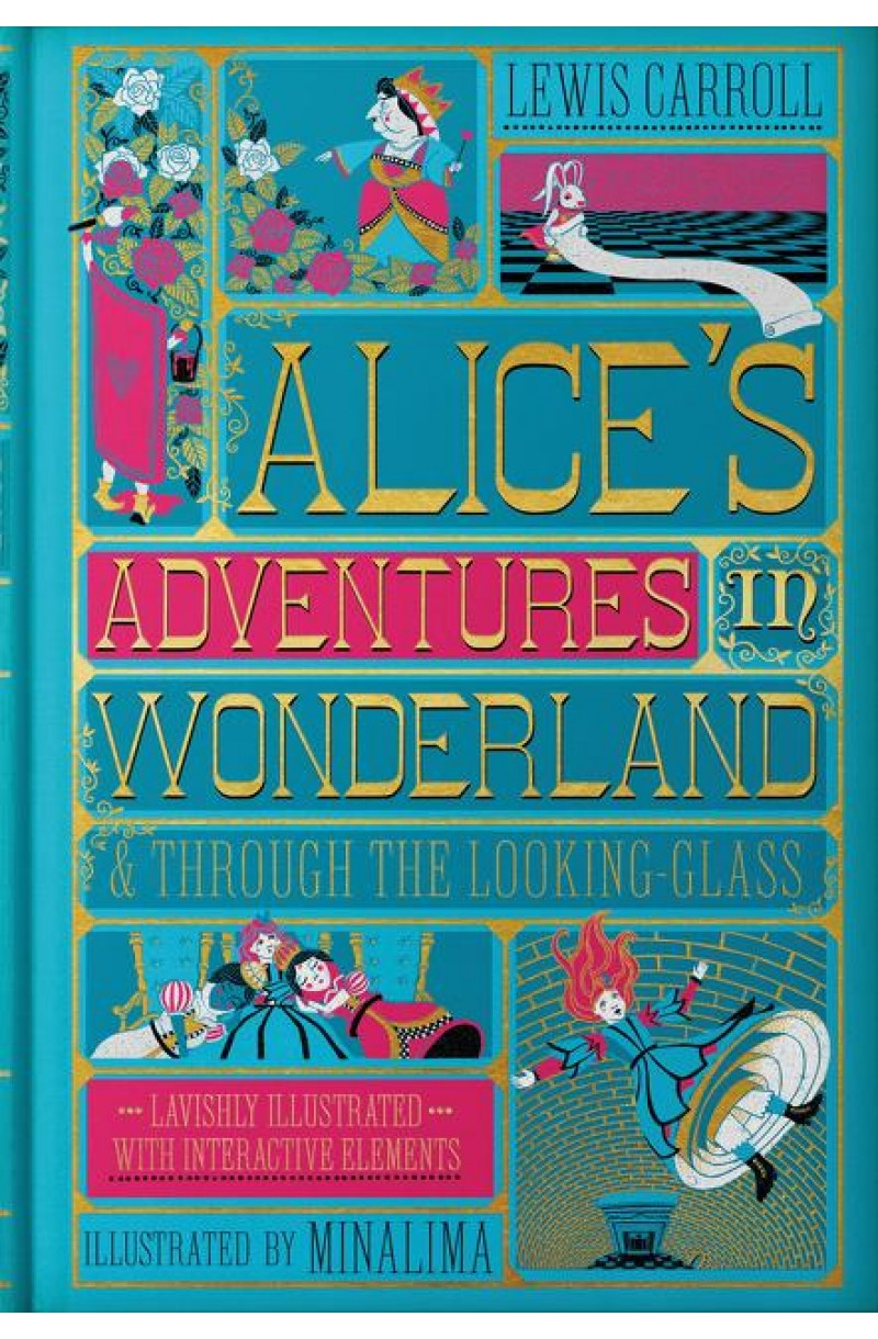 Alice's Adventures in Wonderland & Through the Looking-Glass (Minalima edition)