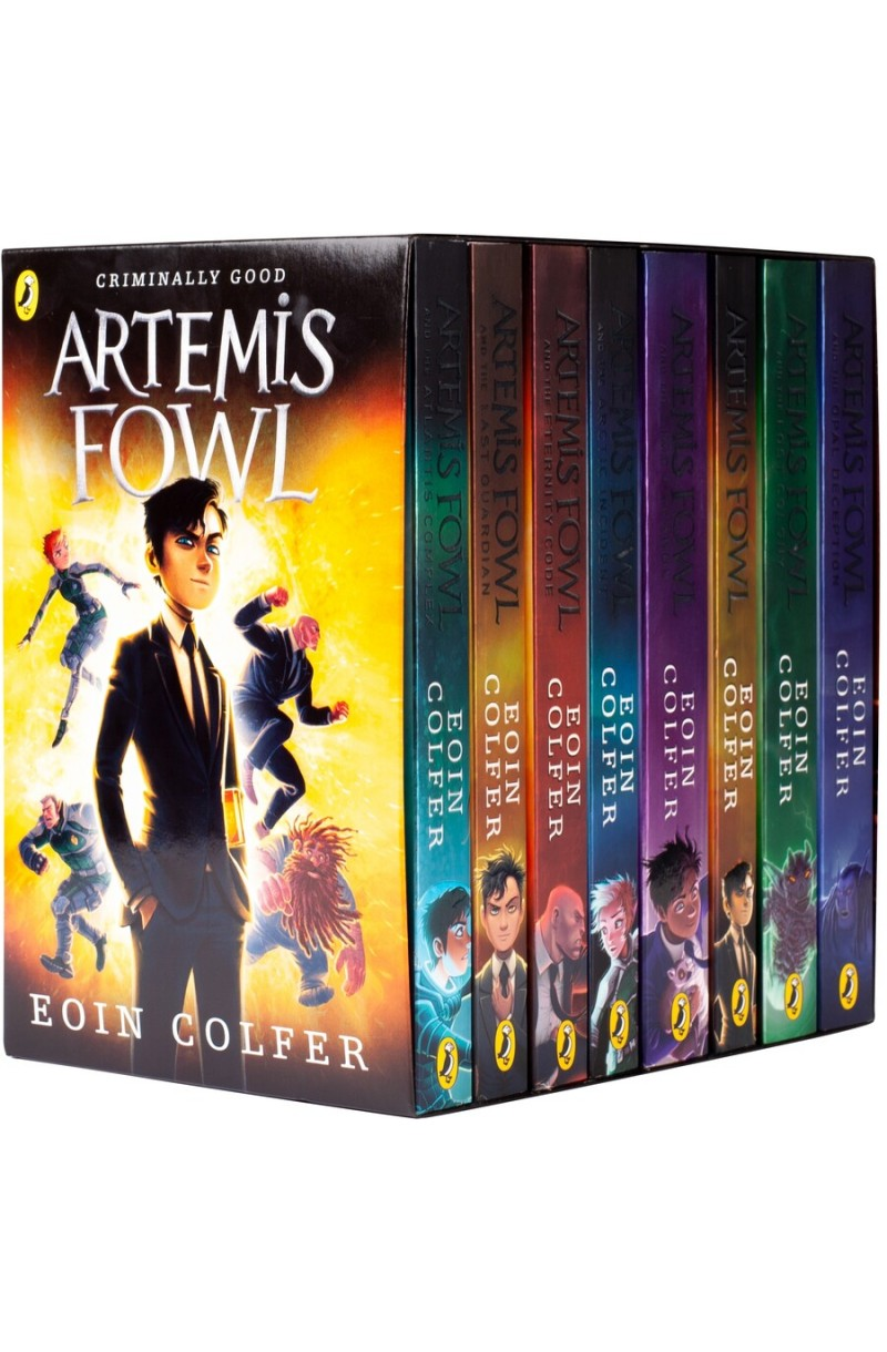 Artemis Fowl 8-book Box