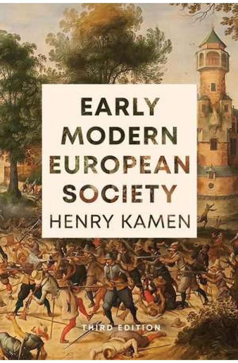 Early Modern European Society, Third Edition
