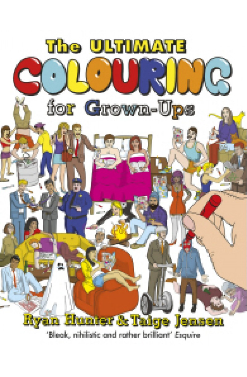 Ultimate Colouring Book for Grown-Ups