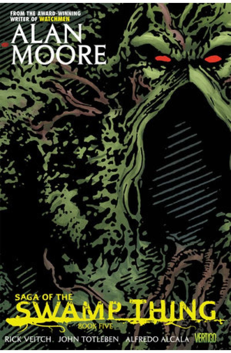 Saga of the Swamp Thing Book Five (DC Comics)