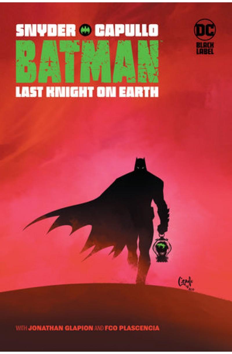 Batman: Last Knight on Earth - editie cartonata