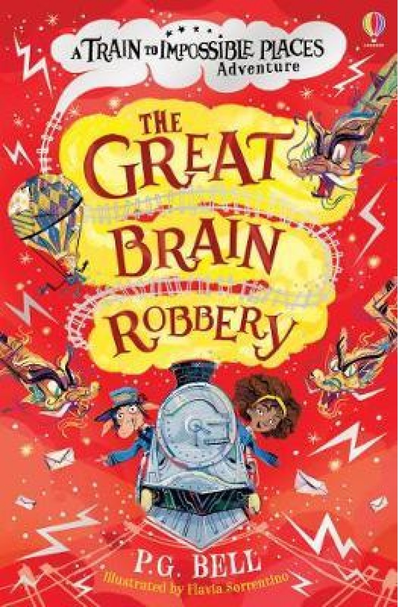 Train to Impossible Places: Great Brain Robbery